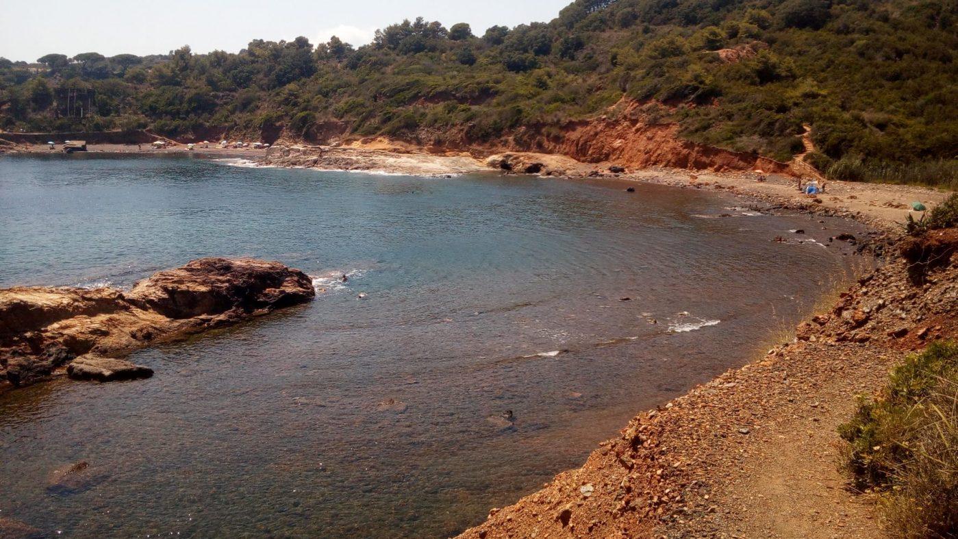 Pohled na zátoku pláže Terranera